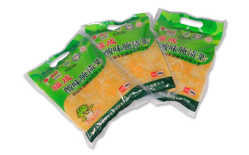 福成乡日酸味腌渍菜精品绿丝